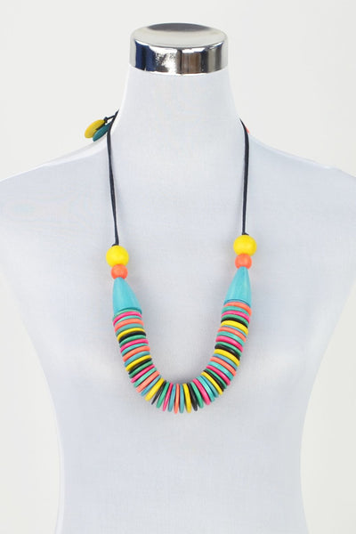 Rainbow Necklace - at I Love Tunics @ www.ilovetunics.com = Number One! Tunics Destination