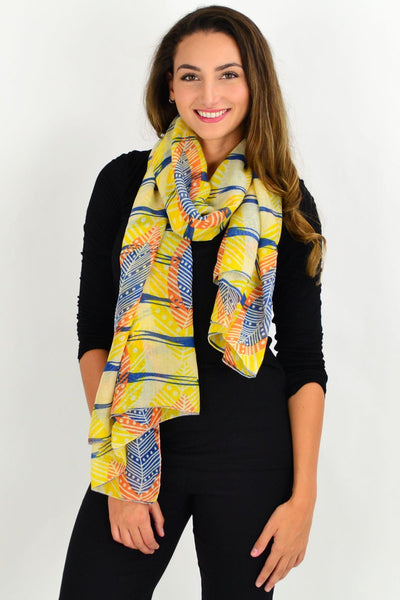 Yellow Queenstown Scarf