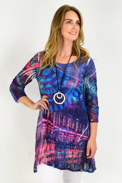Night Life Tunic Top