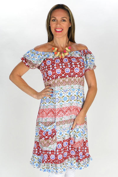 Festive Floral Tunic | I Love Tunics | Tunic Tops | Tunic | Tunic Dresses  | womens clothing online