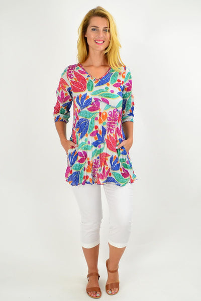 Tammy 3/4 Sleeve Tunic Top
