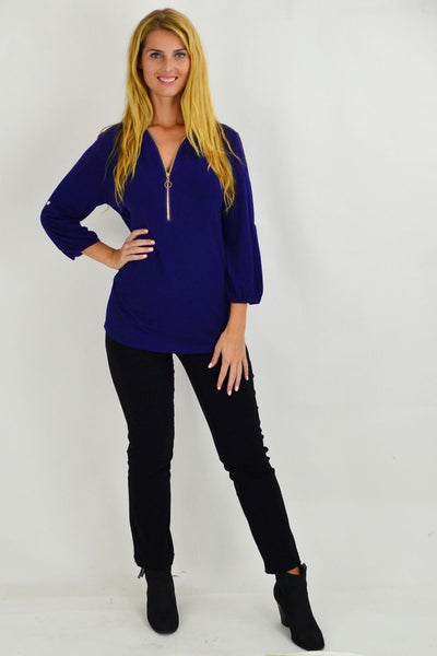 Purple Amelia Tunic