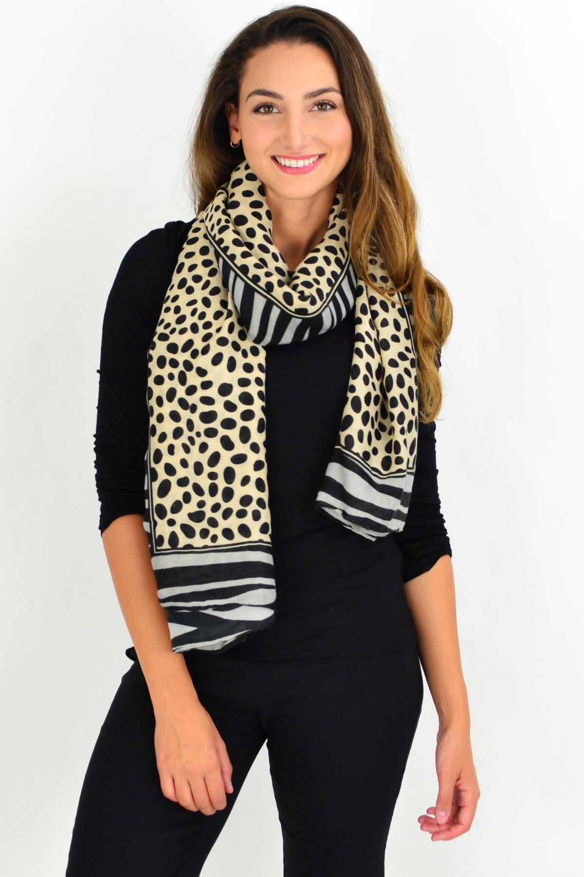 Jungle Safari Scarf | I Love Tunics | Tunic Tops | Tunic | Tunic Dresses  | womens clothing online