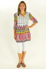 Peppa Paisley Tunic | I Love Tunics | Tunic Tops | Tunic | Tunic Dresses  | womens clothing online