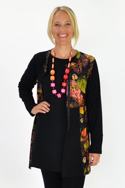 Autumn Leaf Cardigan Tunic - at I Love Tunics @ www.ilovetunics.com = Number One! Tunics Destination