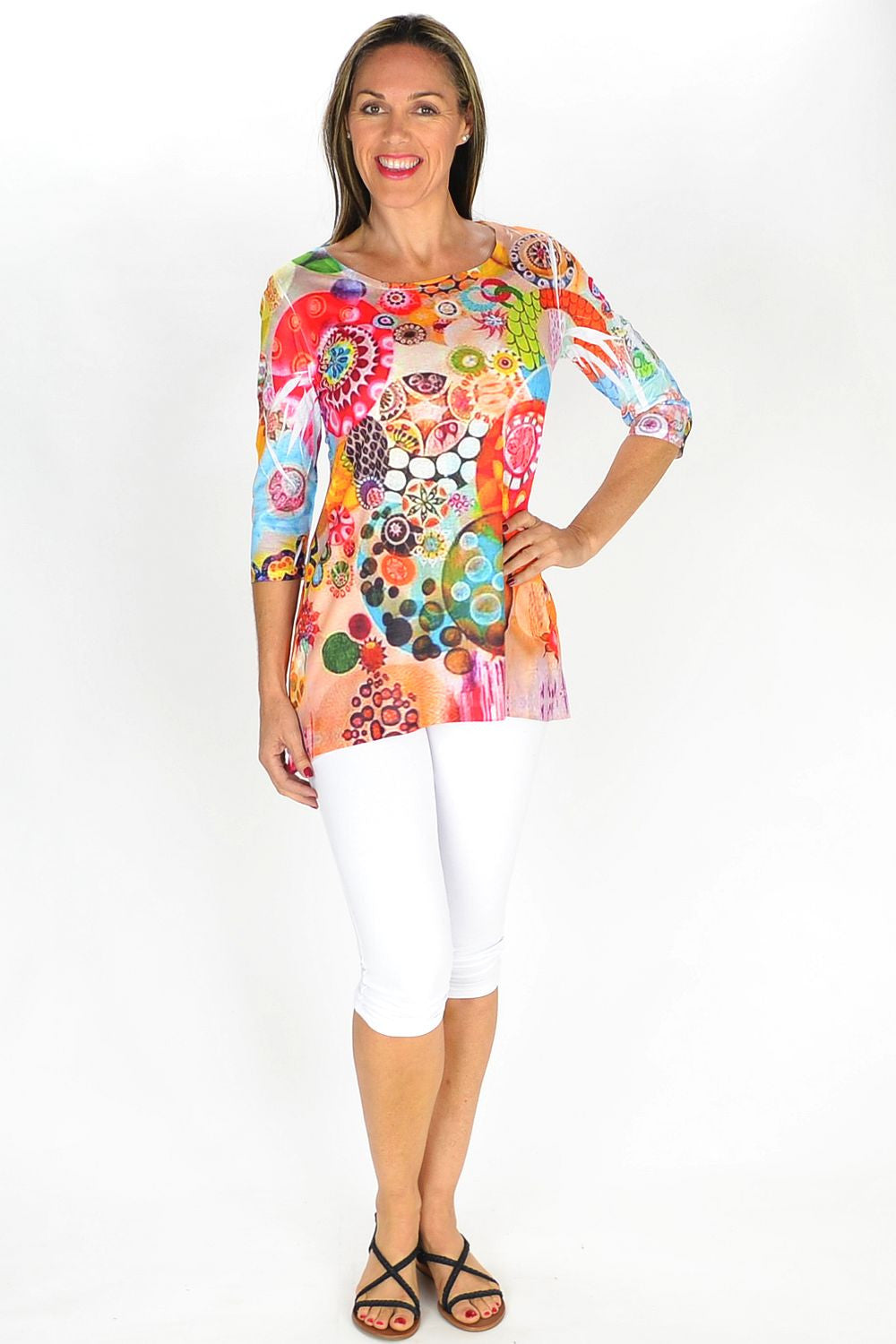 Nadine Tunic - at I Love Tunics @ www.ilovetunics.com = Number One! Tunics Destination