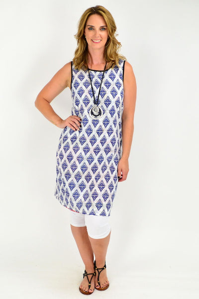 Orientique Tuscany Reversible Tunic Dress | I Love Tunics | Tunic Tops | Tunic | Tunic Dresses  | womens clothing online