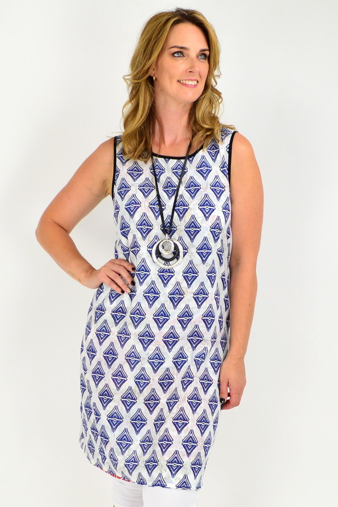 Orientique Tuscany Reversible Tunic Dress