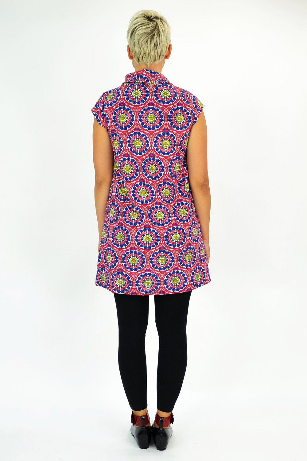 Pink Rosie Tunic - at I Love Tunics @ www.ilovetunics.com = Number One! Tunics Destination