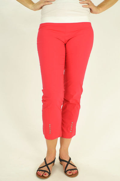 Clarity Coral Pants - at I Love Tunics @ www.ilovetunics.com = Number One! Tunics Destination