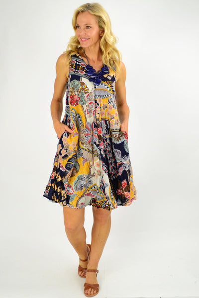 Andalucia Reversible Tunic Dress