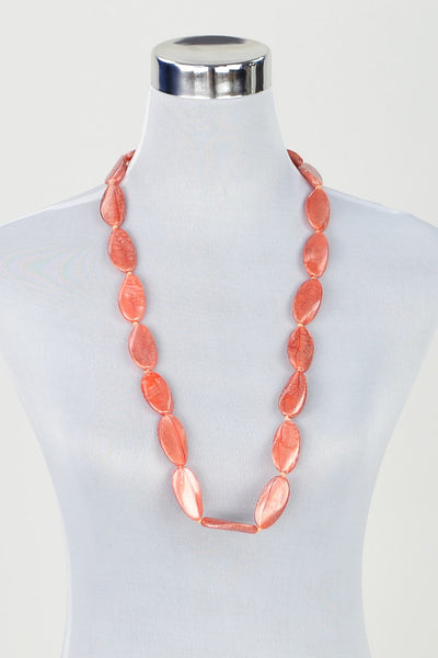 Apricot Beads Necklace - at I Love Tunics @ www.ilovetunics.com = Number One! Tunics Destination