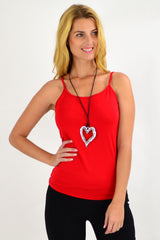 Red Basic Singlet Top | I Love Tunics | Tunic Tops | Tunic | Tunic Dresses  | womens clothing online