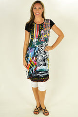 Abstract Art Tunic | I Love Tunics | Tunic Tops | Tunic | Tunic Dresses  | womens clothing online