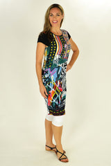 Abstract Art Tunic - at I Love Tunics @ www.ilovetunics.com = Number One! Tunics Destination