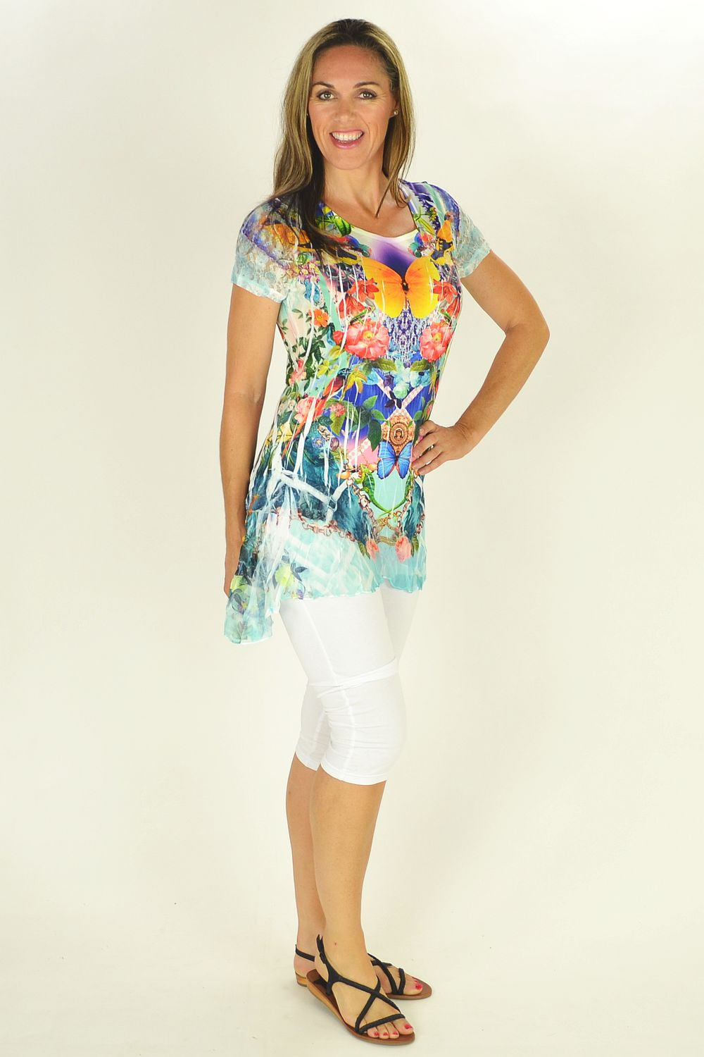 Butterfly Garden Tunic | I Love Tunics | Tunic Tops | Tunic | Tunic Dresses  | womens clothing online