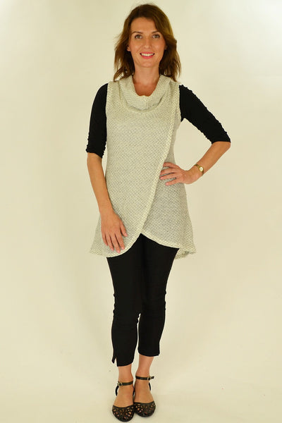 White Knit Mia Tunic