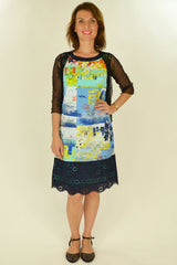 Greek Islands Trim Tunic - at I Love Tunics @ www.ilovetunics.com = Number One! Tunics Destination