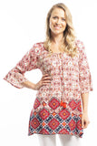 Short Desert Sun Tunic Top