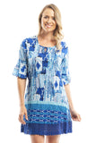 Ocean Wave Tunic Dress