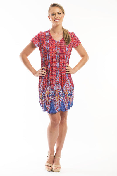 Shannon Cotton Tunic Dress