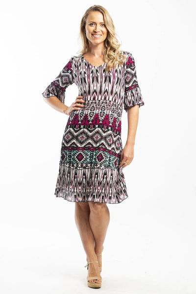 Crinkle Pop DWIJ Tunic Dress