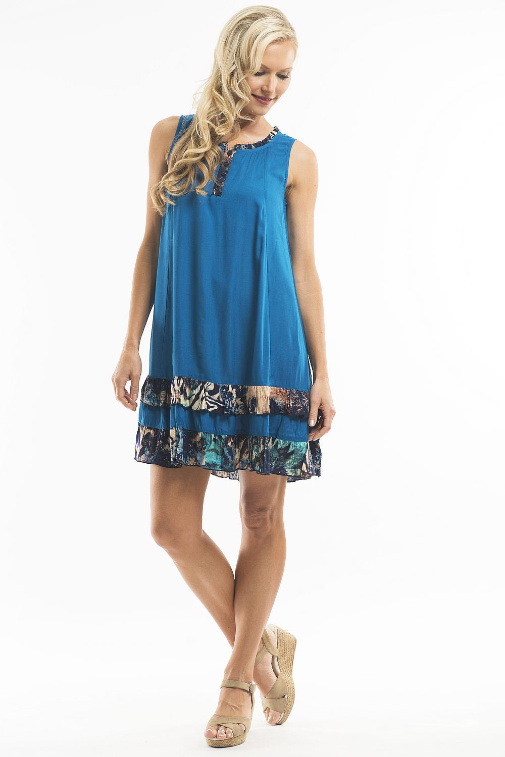 Blue Beauty Tunic