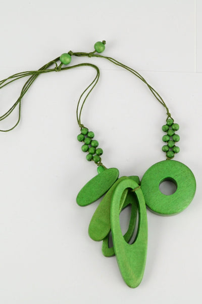 Debbies Green Necklace