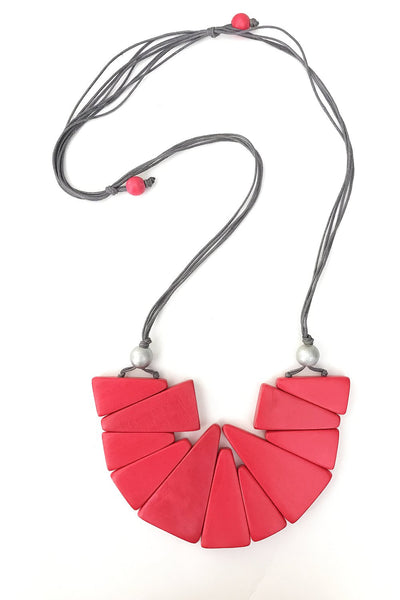 Pink Triangle Necklace | I Love Tunics | Tunic Tops | Tunic | Tunic Dresses  | womens clothing online