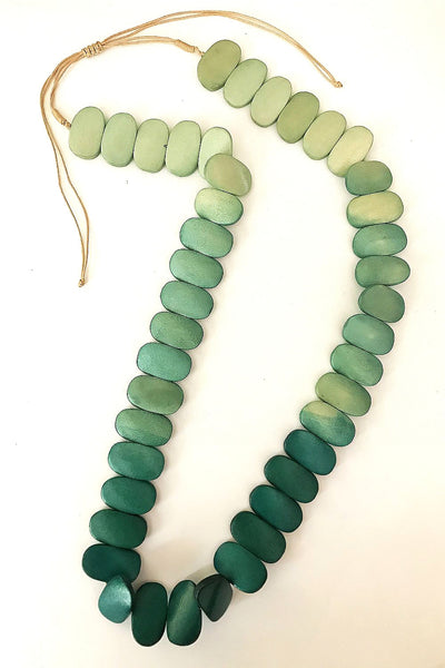 Anna Green Beads Necklace - at I Love Tunics @ www.ilovetunics.com = Number One! Tunics Destination