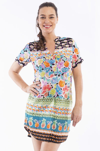 La Boqueria Print Tunic Top - at I Love Tunics @ www.ilovetunics.com = Number One! Tunics Destination