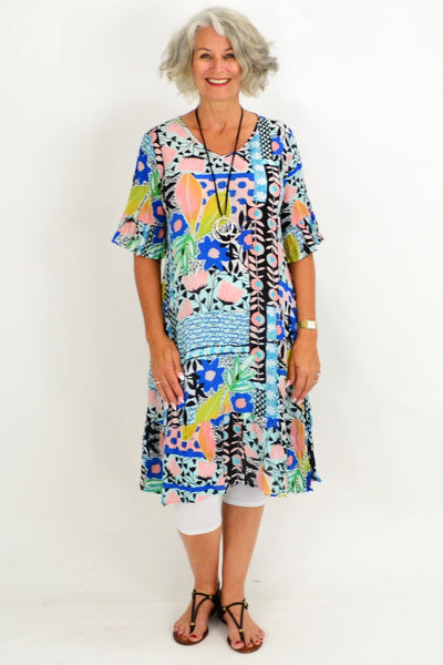 Maui Multicolour Tunic Dress