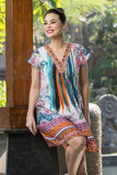 Monderna Orientique Tunic Dress - at I Love Tunics @ www.ilovetunics.com = Number One! Tunics Destination
