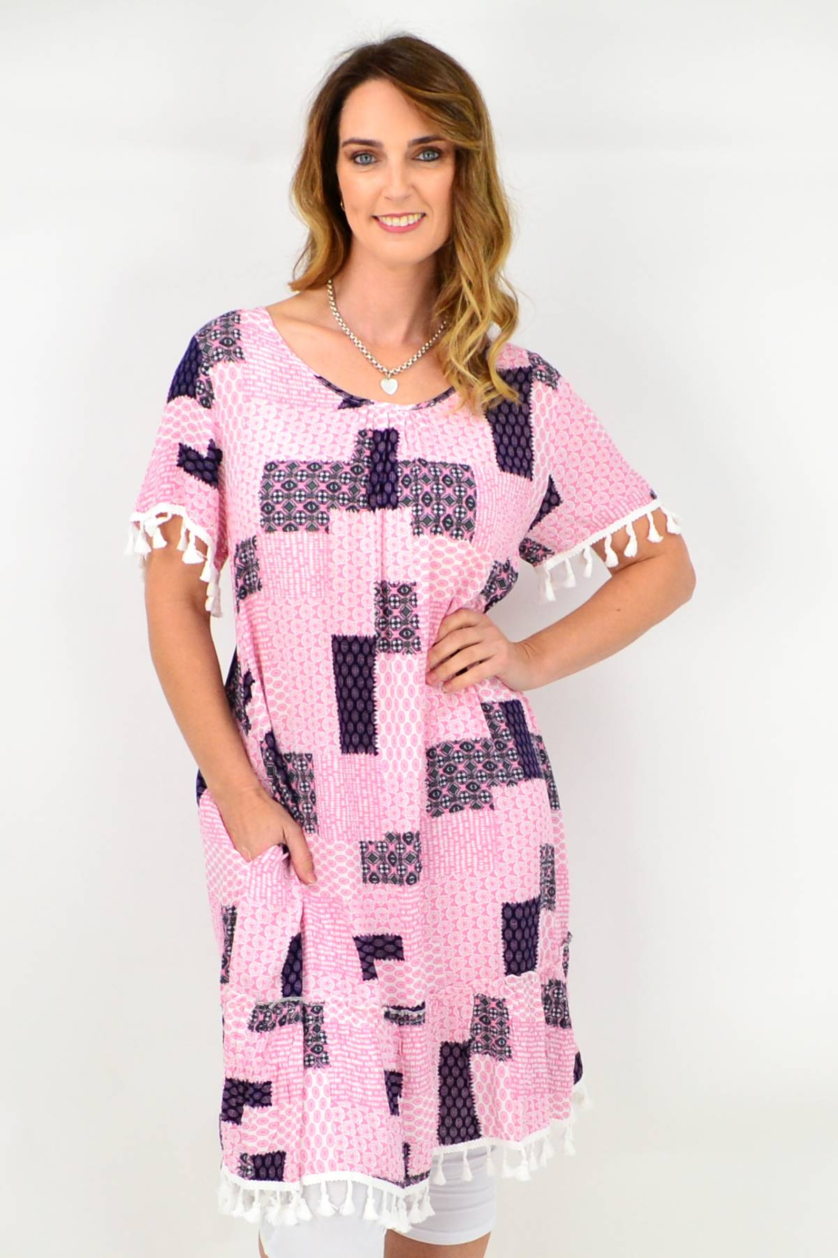 Viscose boho dress by I Love Tunics