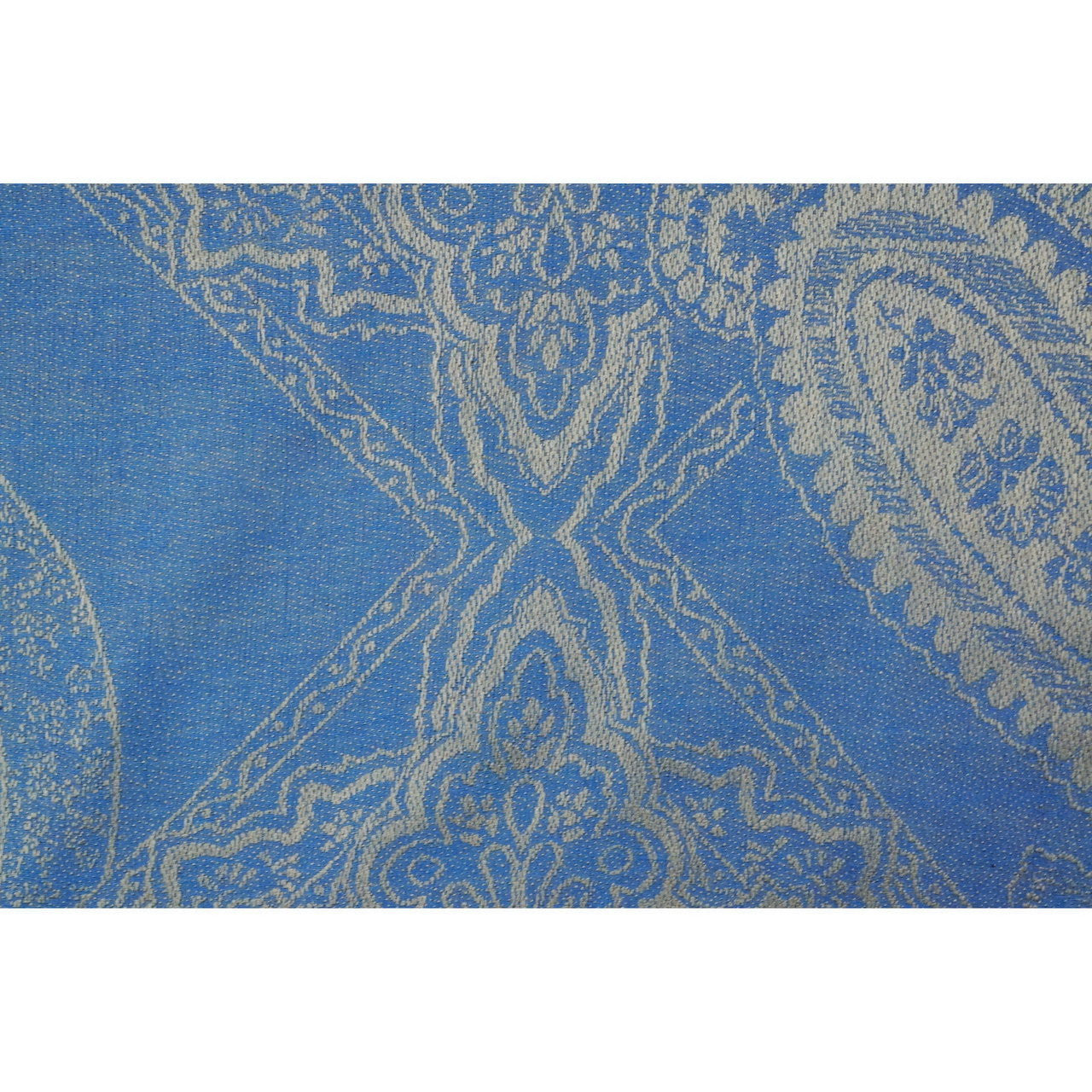 Royal Blue Paisley Pashmina Scarf - at I Love Tunics @ www.ilovetunics.com = Number One! Tunics Destination