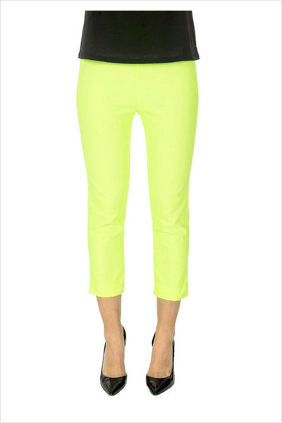 Lime Yellow 3/4 Pants