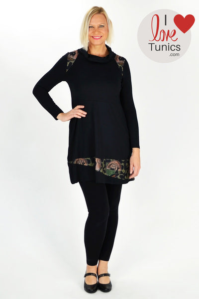 Holmes Fallon Black Sail Away Tunic