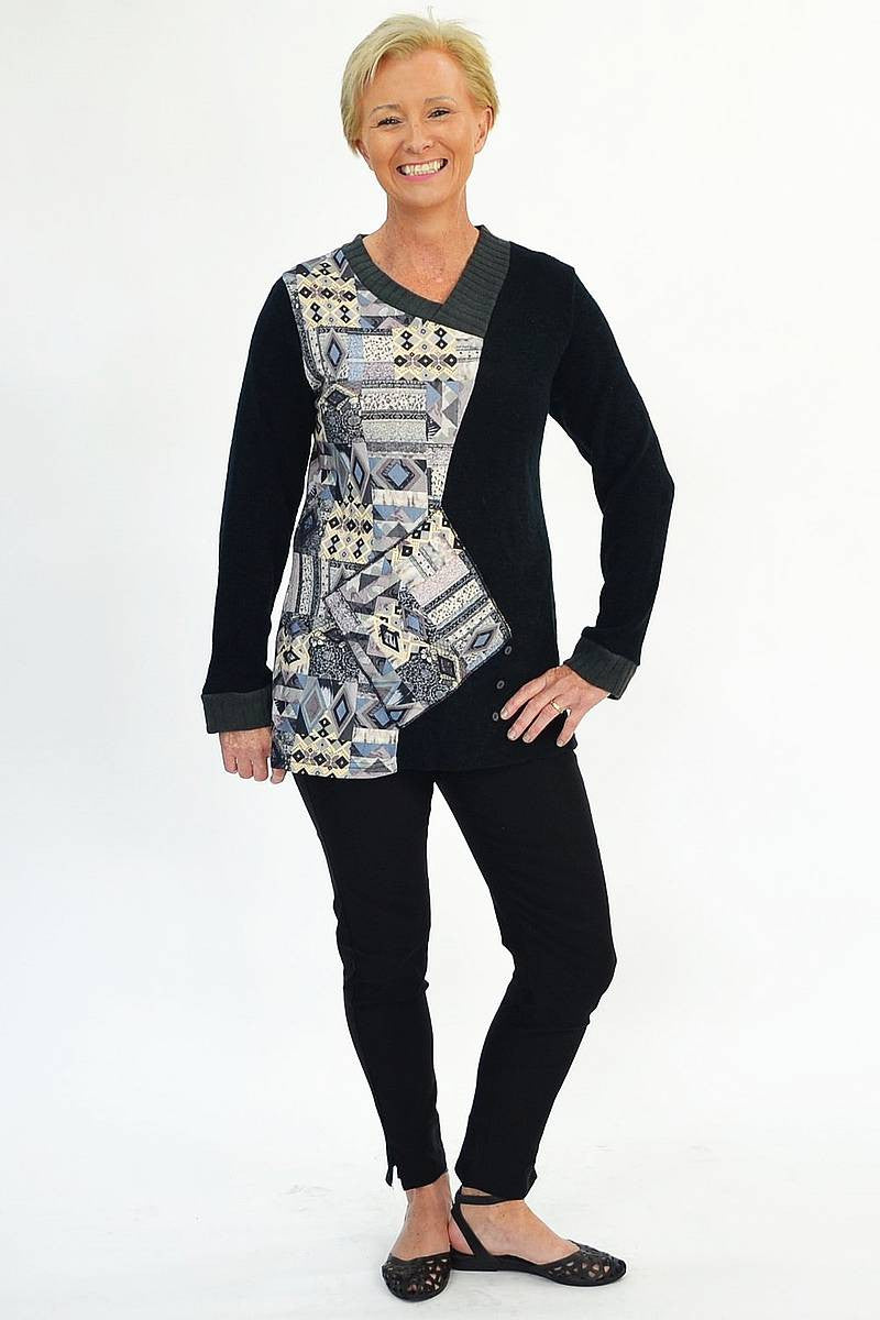 Diamond Pattern Tunic | I Love Tunics | Tunic Tops | Tunic | Tunic Dresses  | womens clothing online