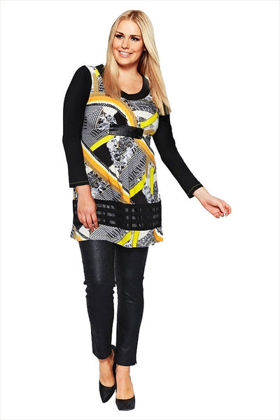 Clarity Mayan Pattern Tunic