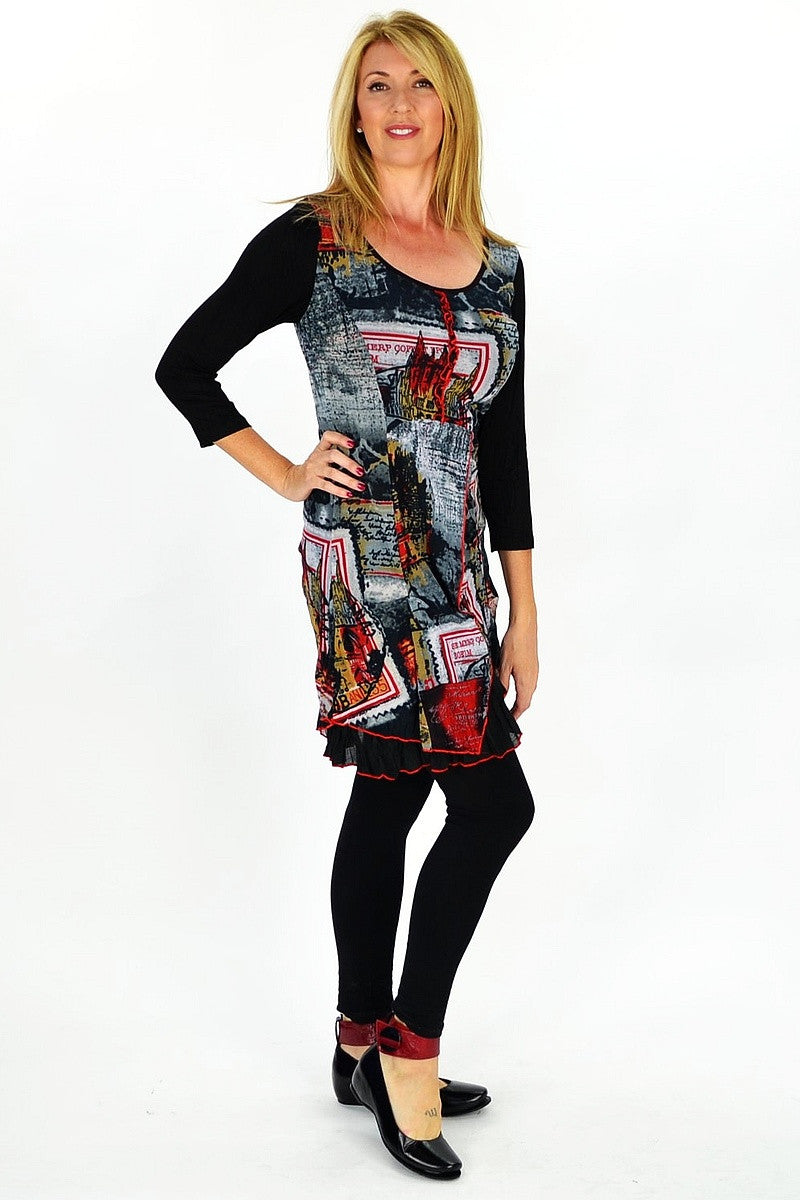 Frances Tunic - at I Love Tunics @ www.ilovetunics.com = Number One! Tunics Destination