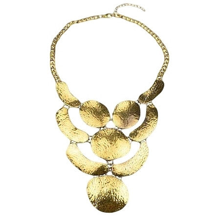 Tribal golden necklace - at I Love Tunics @ www.ilovetunics.com = Number One! Tunics Destination