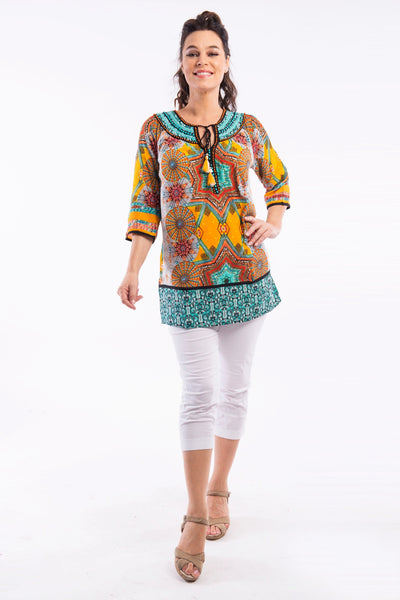 Ambrogio Kurta Tunic by Orientique