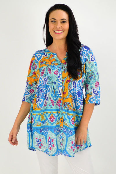Celtic Aqua Tunic Shirt | I Love Tunics | Tunic Tops | Tunic | Tunic Dresses  | womens clothing online