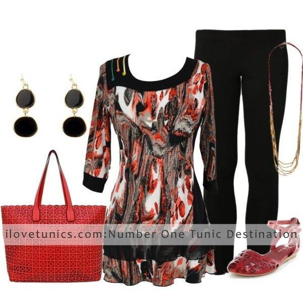 Abstract Tunic - at I Love Tunics @ www.ilovetunics.com = Number One! Tunics Destination