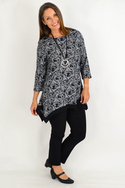 Ada Pattern Tunic Top
