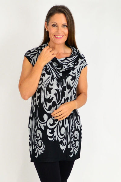 Rhonda Fleece Tunic | I Love Tunics | Tunic Tops | Tunic | Tunic Dresses  | womens clothing online