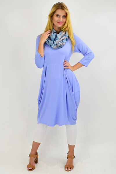 Sky Blue Sophia Tunic Dress - I Love Tunics