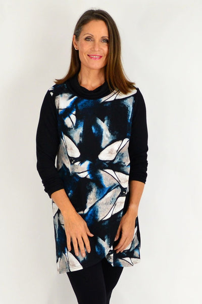 Blue Jasmine Abstract Tunic Top | I Love Tunics | Tunic Tops | Tunic | Tunic Dresses  | womens clothing online