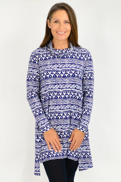 abstract hem tunic - i love tunics