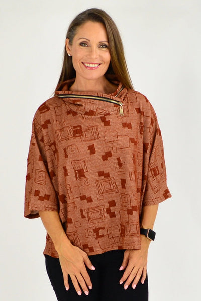 Caramel Eve Relaxed Tunic Cardigan | I Love Tunics | Tunic Tops | Tunic Dresses | Women's Tops | Plus Size Australia | Mature Fashion